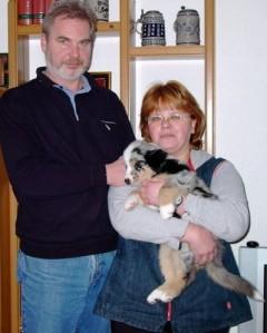 Foto vom Auslieferungstermin am 4.2.2006
