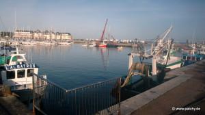 Hafen von Grandcamp-Maisy
