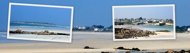 Le Dossen, Île de Siec und Port Mogueriec