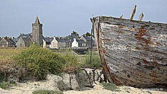 """Wir waren mal """"auf 'n Sprung"""" in Portbail, Basse Normandie"""